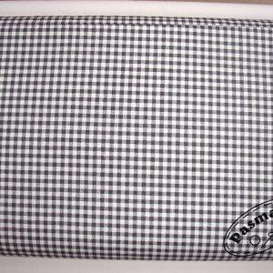 Szara krateczka 5mm - tkanina bawełniana