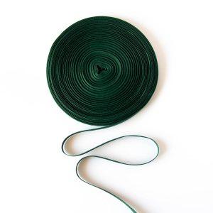 Taśma bawełniana zielona