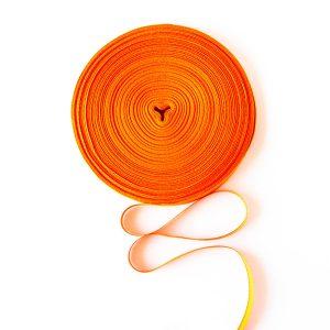 Taśma bawełniana pomarańczowa