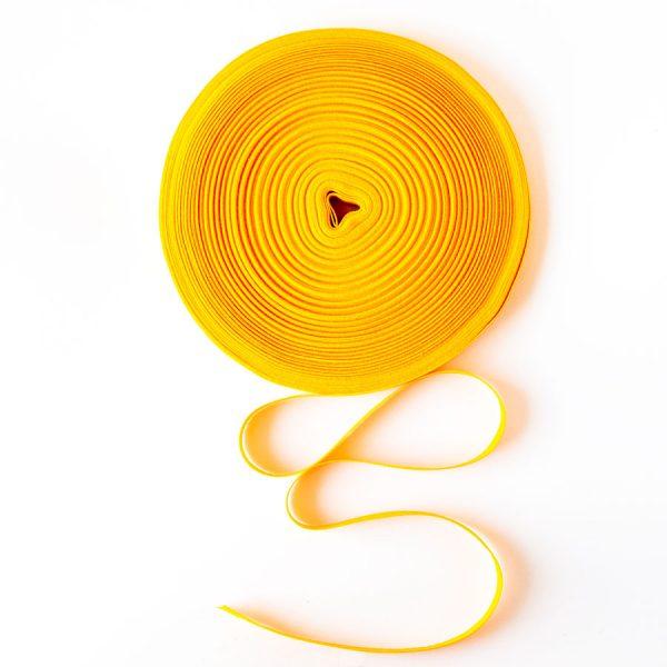 Taśma bawełniana żółta