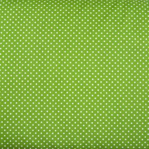 Kropeczki na awokado - tkanina bawełniana
