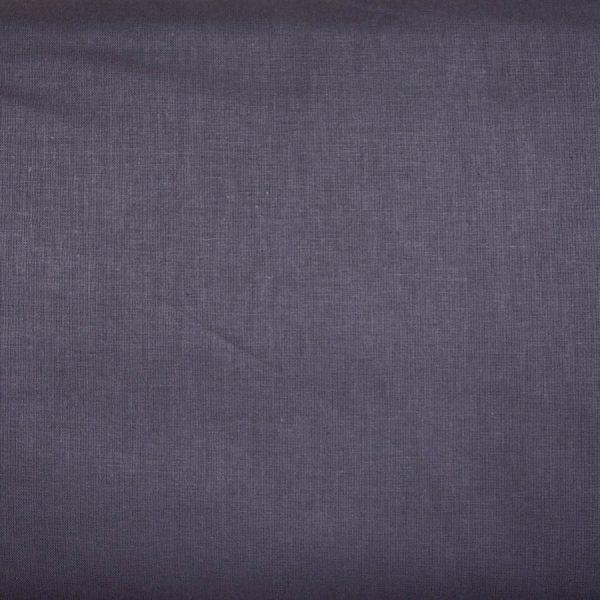 Ciemnoszary - tkanina bawełniana
