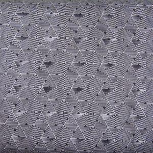 Czarne trójkąciki - tkanina bawełniana