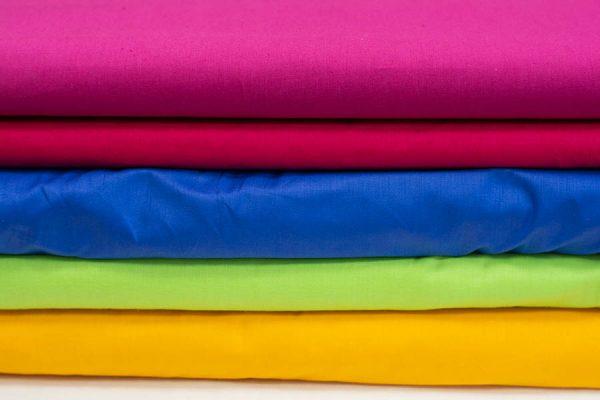 Tkaniny bawełniane jednobarwne