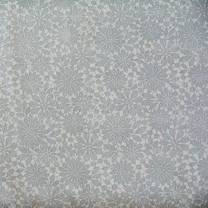 Koronka szaroniebieska - tkanina bawełniana