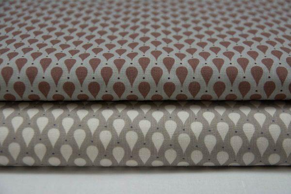 Łezki - tkanina bawełniana