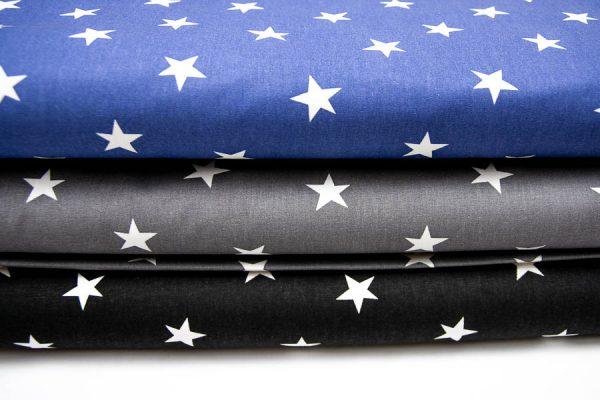 Gwiazdy - tkanina bawełniana