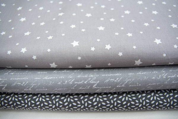 Tkaniny bawełniane na popielu