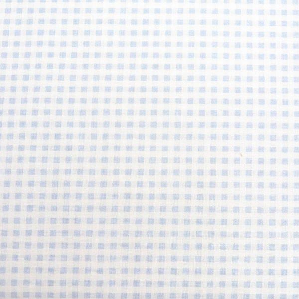 Krateczka błękitna - tkanina bawełniana