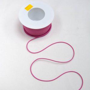 Guma okrągła różowa - średnica 3mm