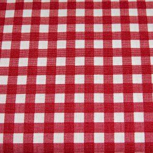 Kratka czerwona 10 mm - tkanina bawełniana