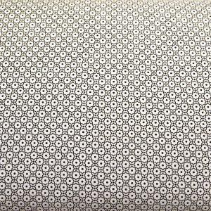 Mozaika drobna czerń - tkanina bawełniana