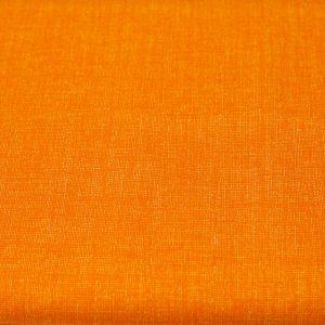 Pomarańczowy nadruk - tkanina bawełniana