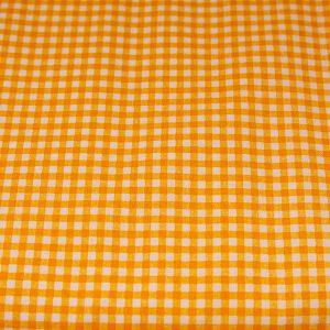Krateczka pomarańczowa - tkanina bawełniana
