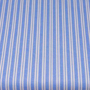 Paski biało-niebieskie- tkanina bawełniana