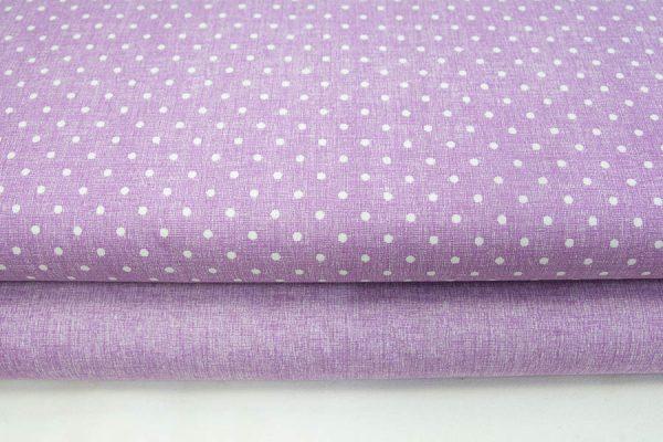 Tkaniny fioletowy nadruk