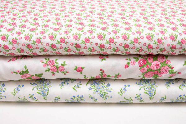 Tkaniny kwiaty wiosenne