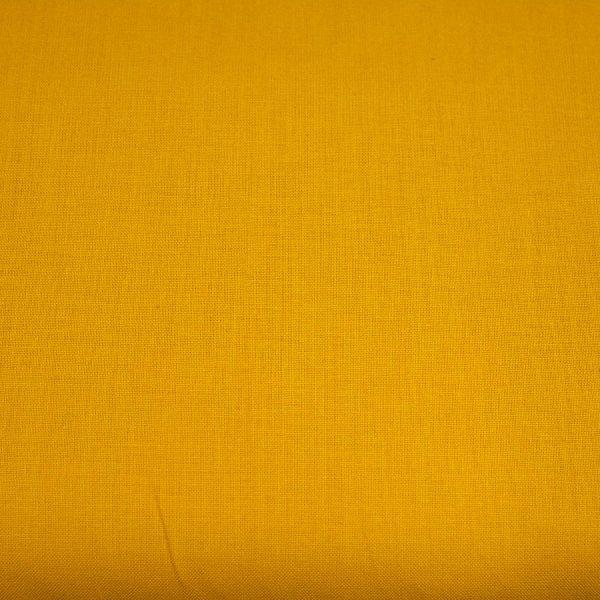 Musztardowy - tkanina bawełniana