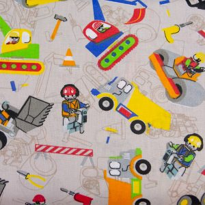 Lego budowa - tkanina bawełniana