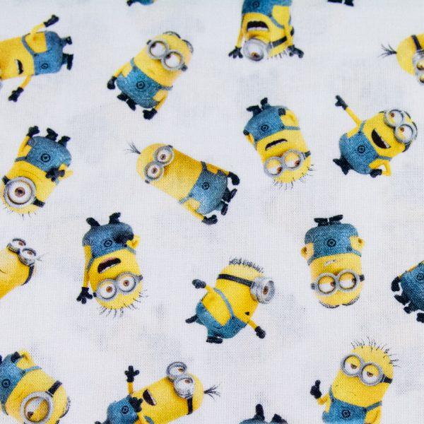 Minionki - tkanina bawełniana