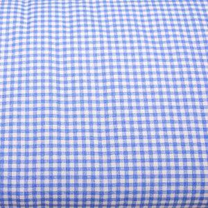 Krateczka niebieska - tkanina bawełniana