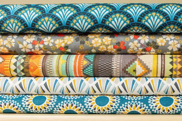 Tkaniny bawełniane we wzory