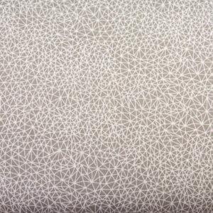 Gęsta pajęczyna na szarości - tkanina bawełniana