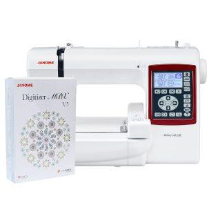 Hafciarka Janome MC230E + program hafciarski Janome Digitizer MBX