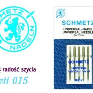 Igły do maszyn Schmetz 015 standard 80