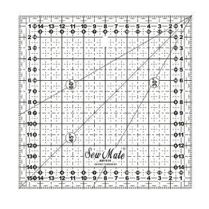Linijka do patchworku kwadrat