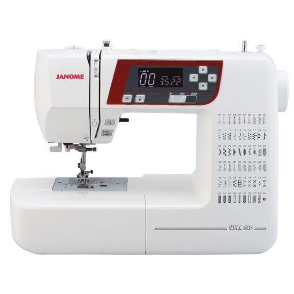 Maszyna do szycia JANOME DXL603