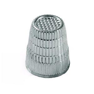 Naparstek krawiecki metalowy
