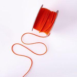 Guma okrągła odbaskowo pomarańczowa 2,5mm
