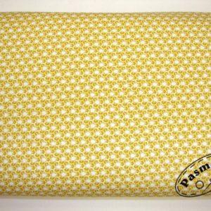 Tkanina bawełniana miodowy mini geometric