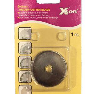 Ostrze do noża krążkowego X'Sor 45mm - proste