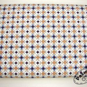 Tkanina bawełniana skandynawska mozaika